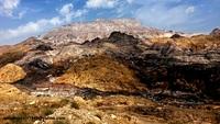 naser ramezani jashk salty mountain, گنبد نمکی جاشک photo