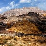 naser ramezani jashk salty mountain, گنبد نمکی جاشک