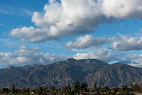 Mt. Wilson from the distance, Mount Wilson (California) photo
