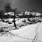 Winter Scene From Mount Hasan Turkey, Hasandag or Hasan Dagi