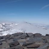 zicht vanuit Mulhacen naar Pico veleta