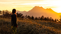 Sunset on Stonehammer, Mount Ishizuchi photo