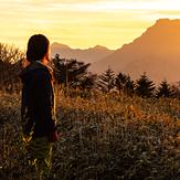 Sunset on Stonehammer, Mount Ishizuchi