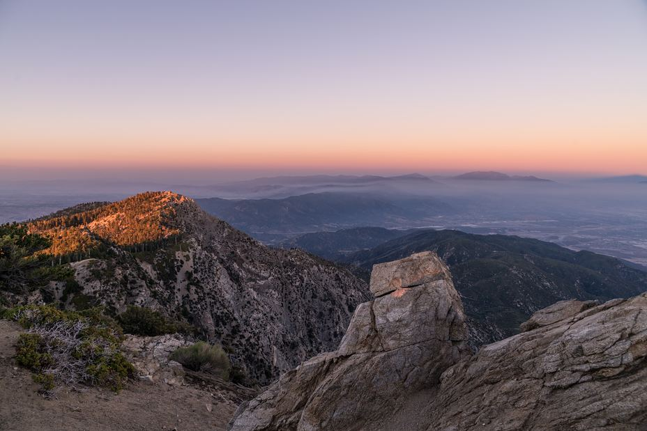 Cucamonga Peak weather