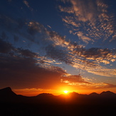 Sunset, Bluff Knoll