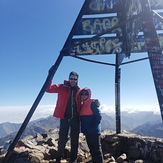 Summit Mount Toubkal