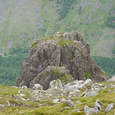 Pillar Rock from the Summit of Pillar