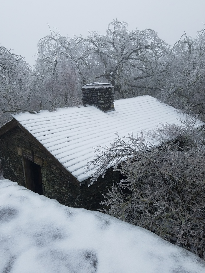 Snowstorm at Blood Mountain