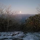 Moonrise at Blood Mountain