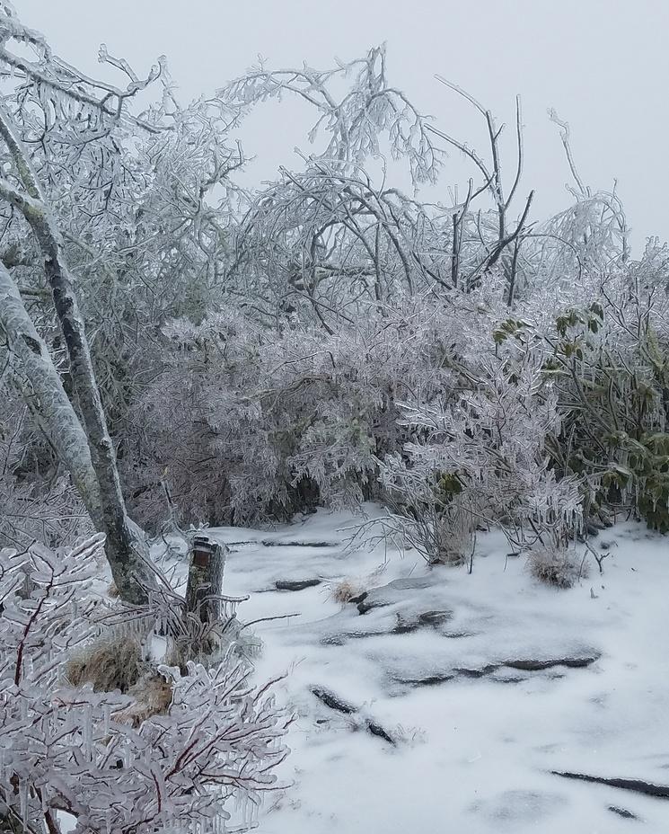 an Icy Peak, Blood Mountain