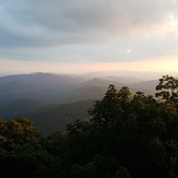Sunset at Blood Mountain