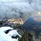 Reflections Of Carrauntoohil On A Frozen Lough Gouragh