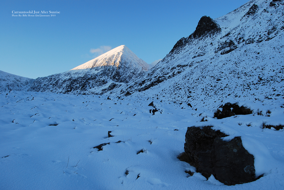Carrauntoohil Just After Sunrise