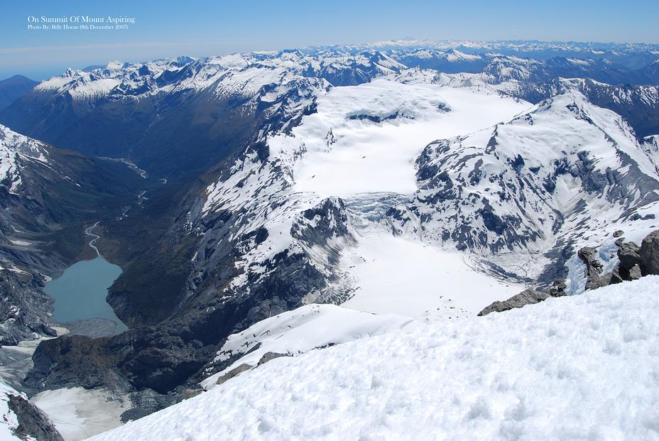 On Summit Of Mount Aspiring