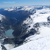 On Summit Of Mount Aspiring