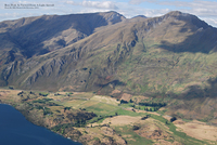 Roys Peak As Viewed From A Light Aircraft  photo