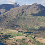 Roys Peak As Viewed From A Light Aircraft