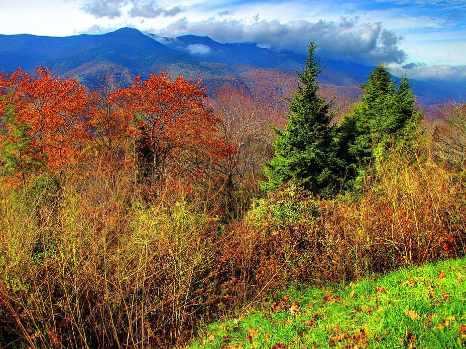 Mount Mitchell In Autumn, Mount Mitchell (North Carolina)