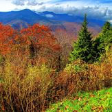 Mount Mitchell In Autumn, Mount Mitchell (North Carolina)