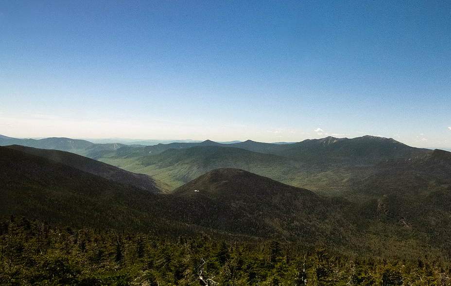 Galehead Mountain, looking ESE from North Twin