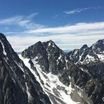 Dragontail, Colchuck Pk. Sherpa Pk. Mt. Stuart, Colchuck Peak