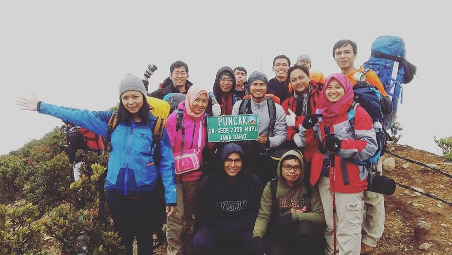 Mount Gede weather