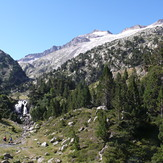 Aneto desde Aigualluts, Pico d'Aneto