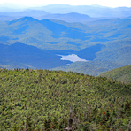 View just past Marshall Summit, Mount Marshall (New York)