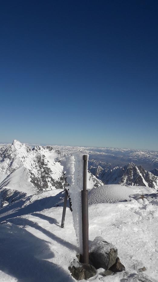 Mt Tapuaenuku (Kaikouras)