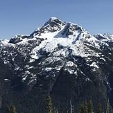 Kings Peak from Crest Mountain, Kings Peak (Elk River Mountains)