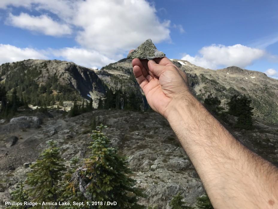 Phillips Ridge Mystery Peak