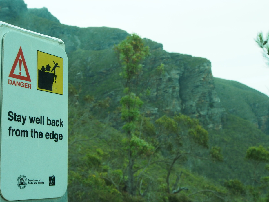 On the Edge, Bluff Knoll