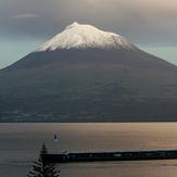 Pico Mountain at dusk, Montanha do Pico