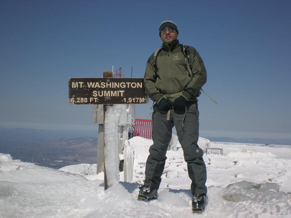 At the top !!!, Mount Washington (New Hampshire)