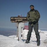 At the top !!!, Mount Washington (New Hampshire)