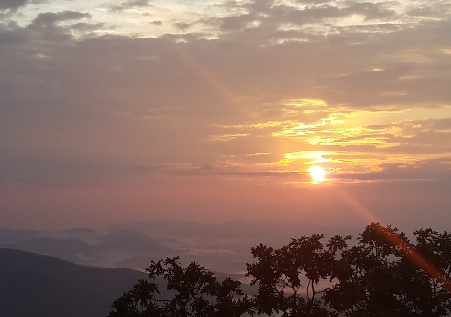 Sunset, Blood Mountain