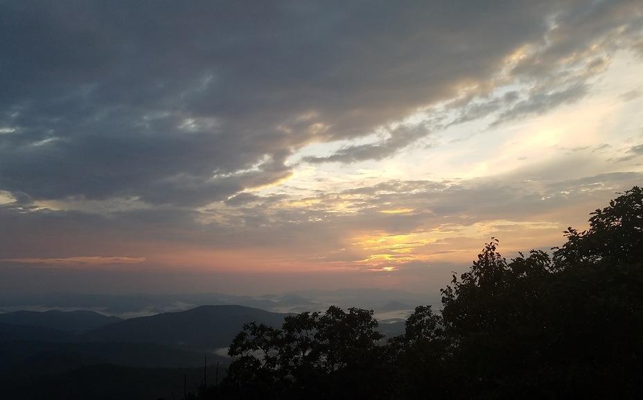 Sunset, Blood Mountain