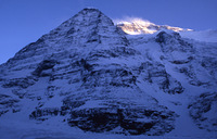 Dhaulagiri from basecamp photo