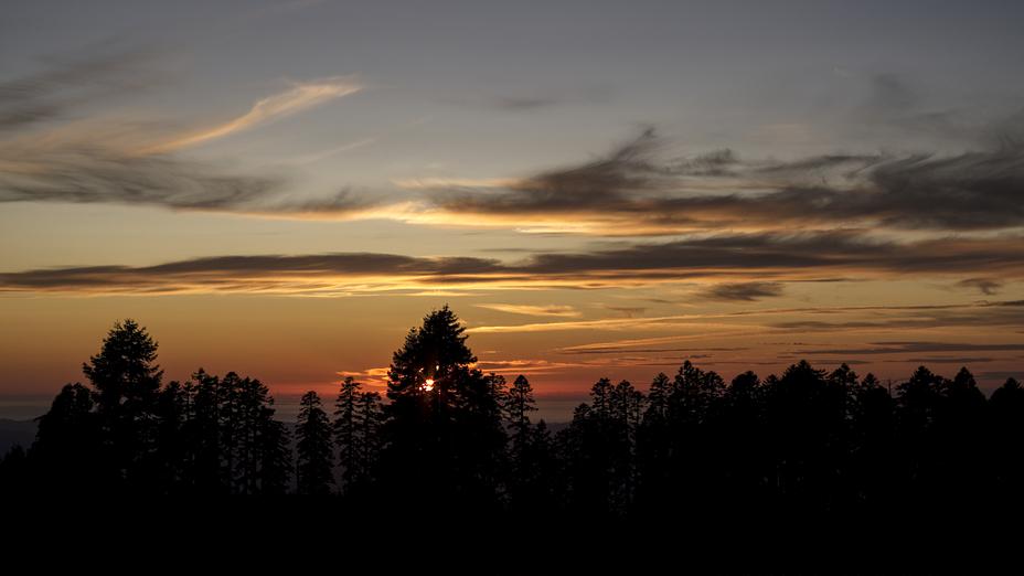 Sunset, Marys Peak