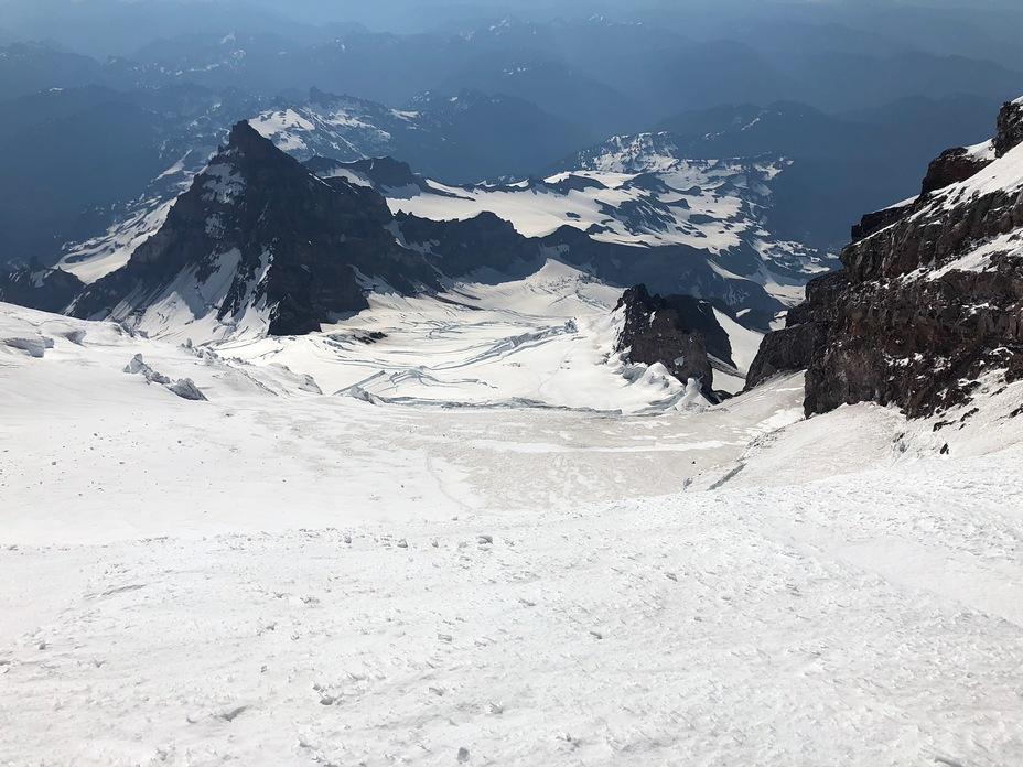 Down Ingraham Glacier, Mount Rainier