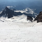 Down Ingraham Glacier, Mount Rainier