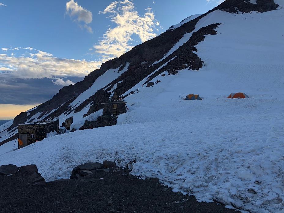 Evening at Camp Muir, Mount Rainier
