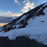 Evening at Camp Muir, Mount Rainier
