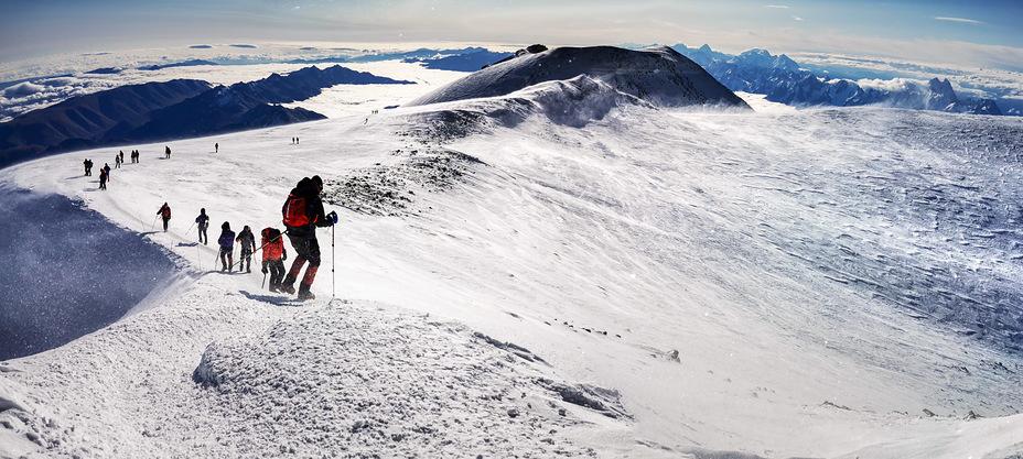 last 500m to the summit, Mount Elbrus