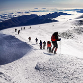 last 500m to the summit, Mount Elbrus