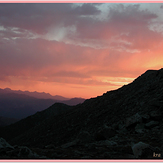 Mt. Evans Sunset, Mount Evans