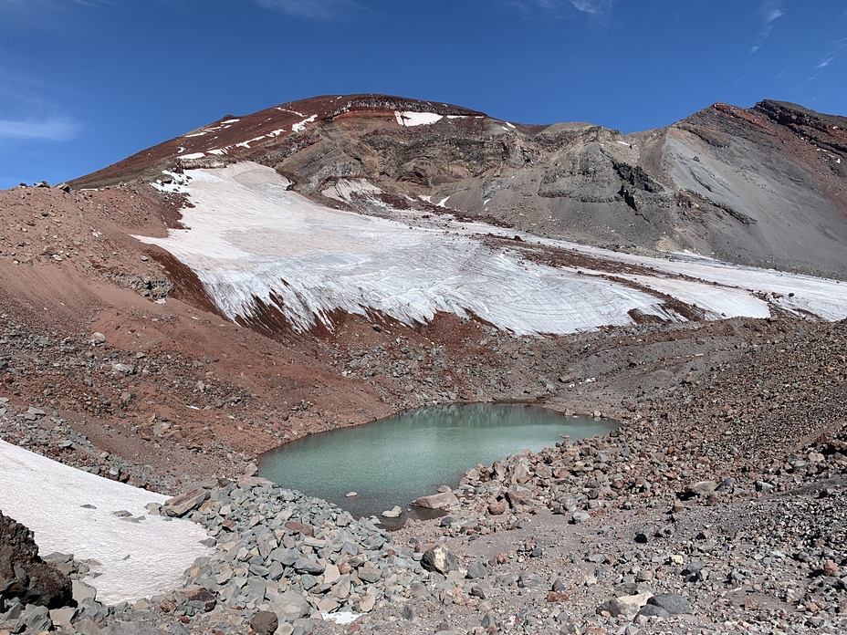 Summit View, South Sister Volcano