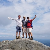 Summer day on Monadnock summit, Mount Monadnock