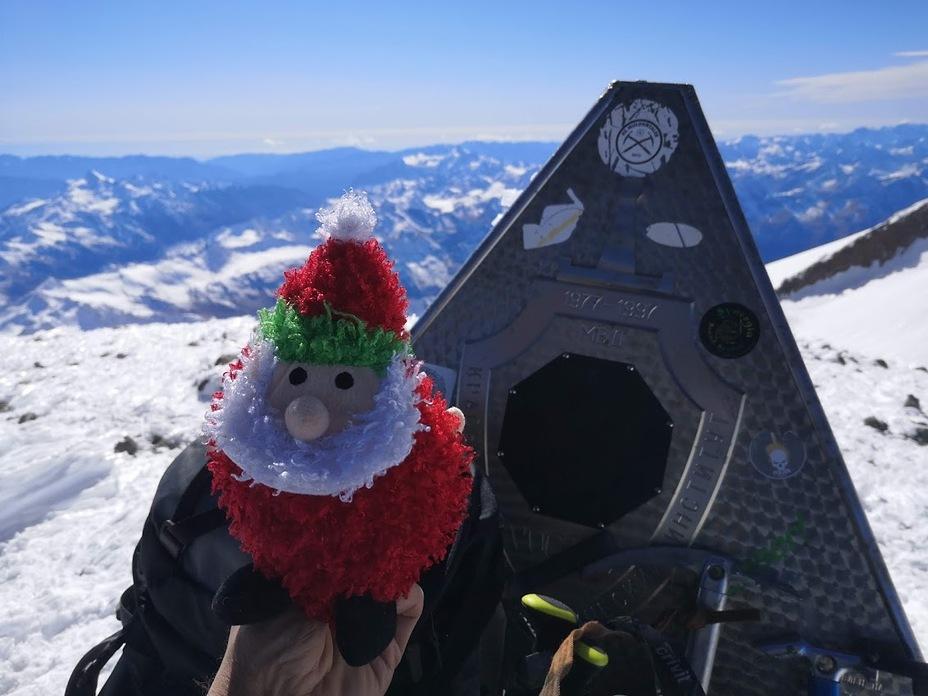 Elbrus east peak, Mount Elbrus