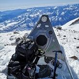 Elbrus east peak